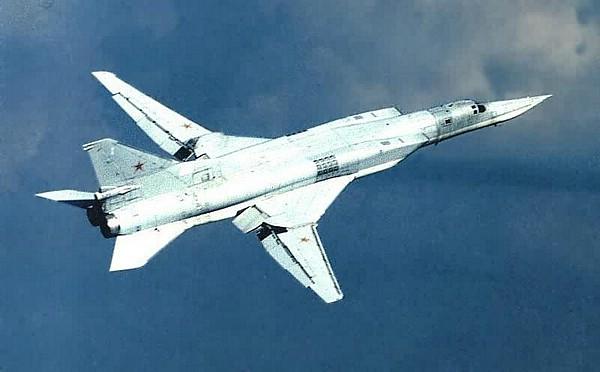 Tu-22M Backfire Medium-Range Bomber