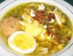 Resep masakan indonesia soto banjar spesial (istimewa) khas kalsel praktis mudah sedap, gurih, enak, nikmat lezat