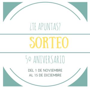 Sorteo 5º aniversario patrocinado por Lékué