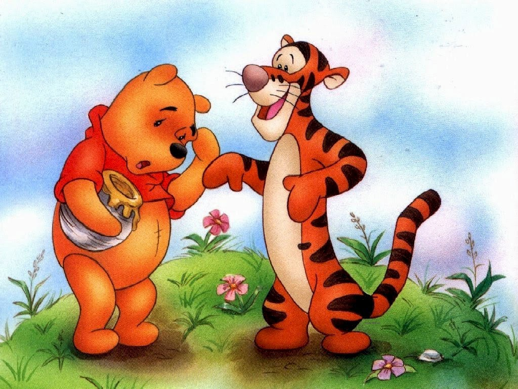 gallerycartoon.blogspot.com.Pooh 3D Cartoon Wallpapers HD