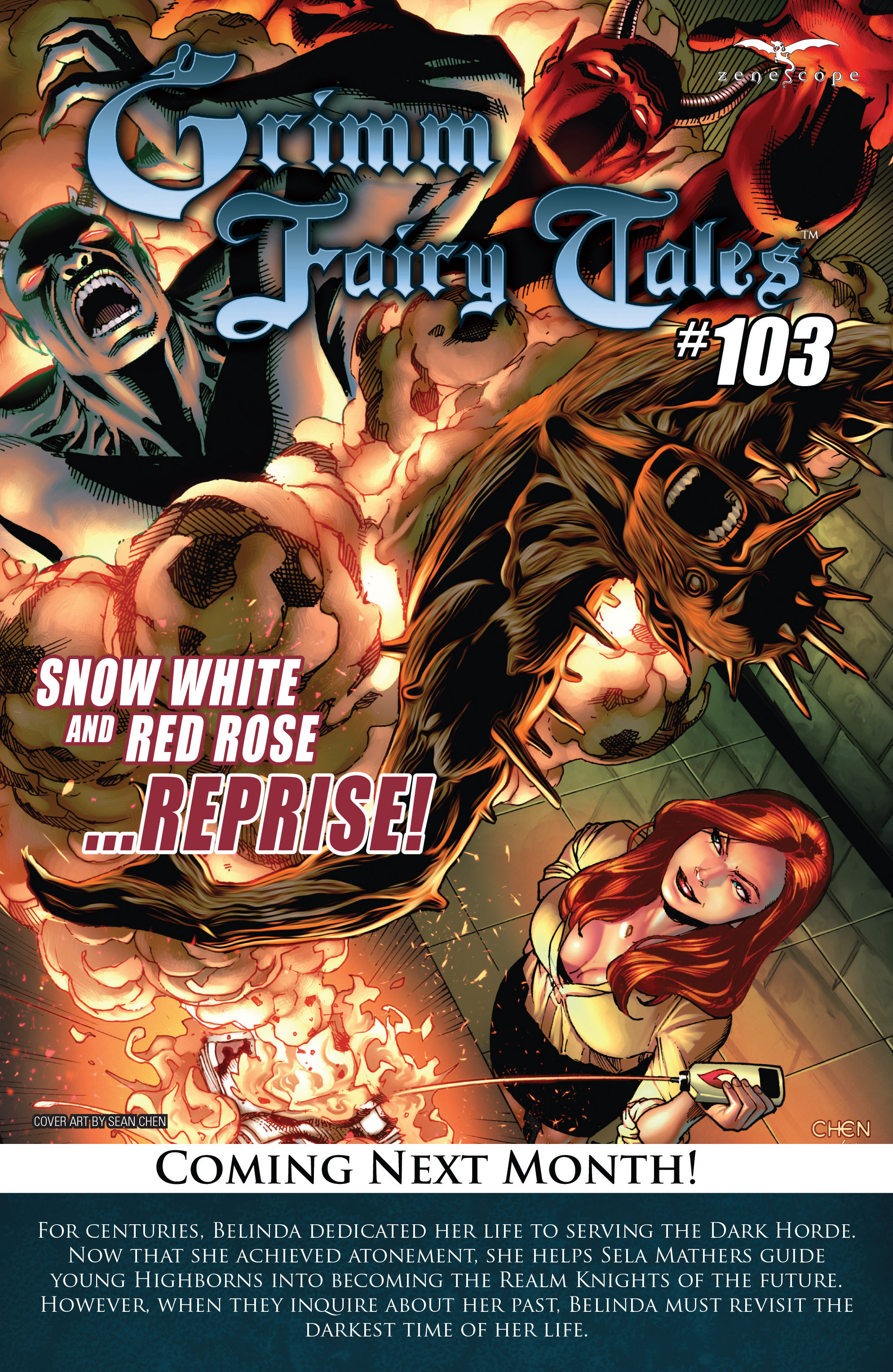 Grimm Fairy Tales (2005) Issue #102 #105 - English 26