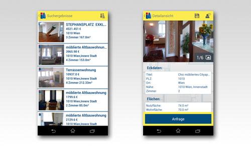 Immobilien.net veröffentlicht App für Android und iOS