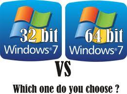 perbedaan komputer 32bit dan 64bit