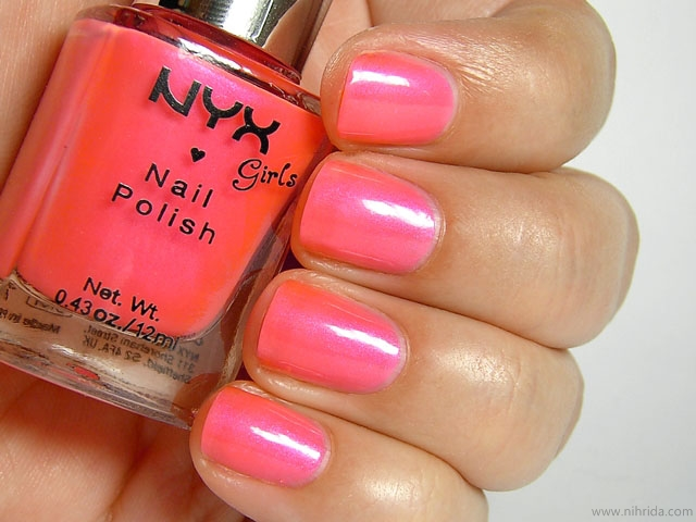 NYX Girls Nail Polish in Roxy
