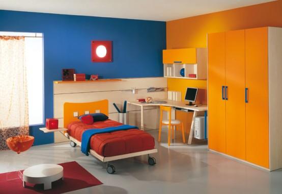 Decoraci n de interiores cuartos para ni os - Habitaciones pintadas para ninos ...