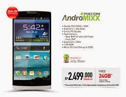 Harga Smartfren Pixcom Andromixx Bulan Juli 2014