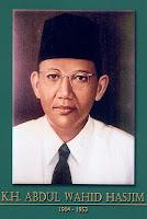 gambar-foto pahlawan kemerdekaan indonesia, KH.AWahid Hasyim