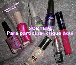 1° sorteio do Blush & Cia!!