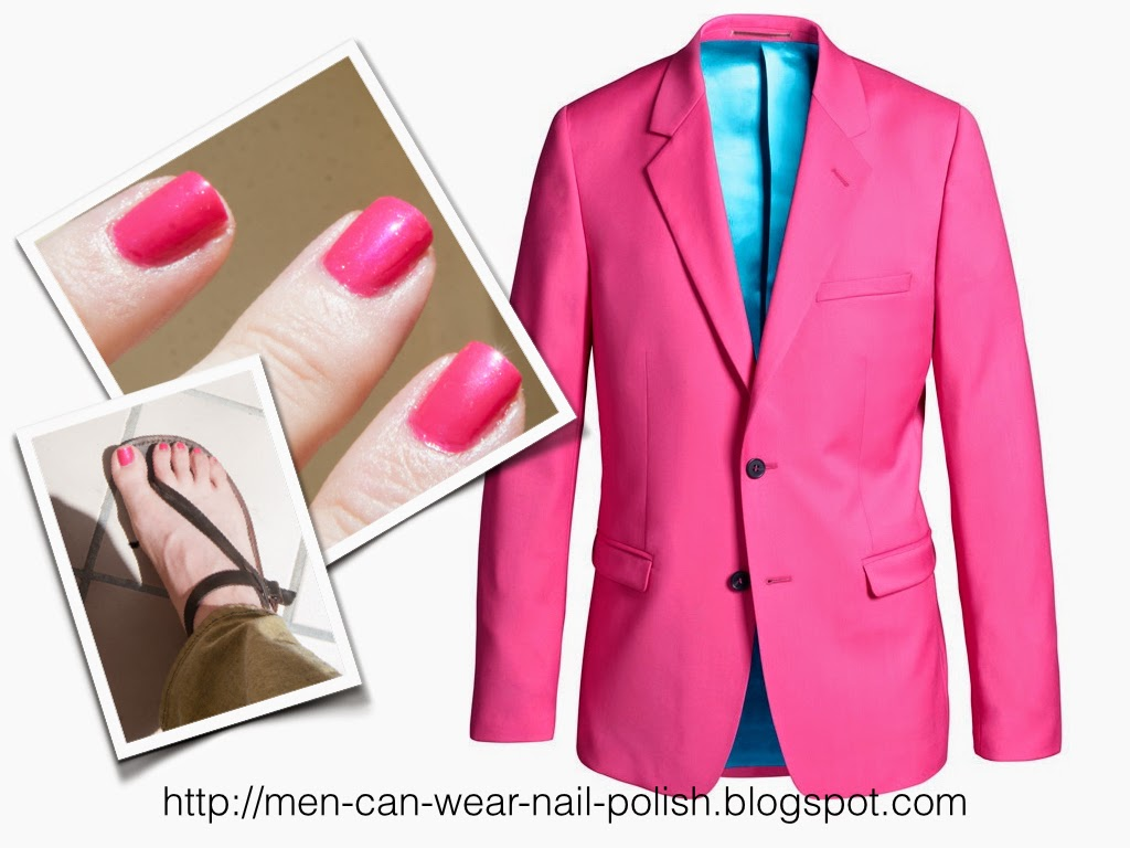 men can wear nail polish
