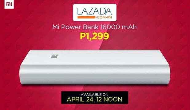 Xiaomi 16,000mAh Mi Power Bank Flash Sale Via Lazada Philippines This April 24