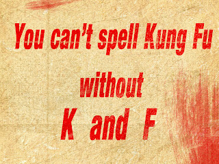 You can't spell kung fu without K and F Wallpaper