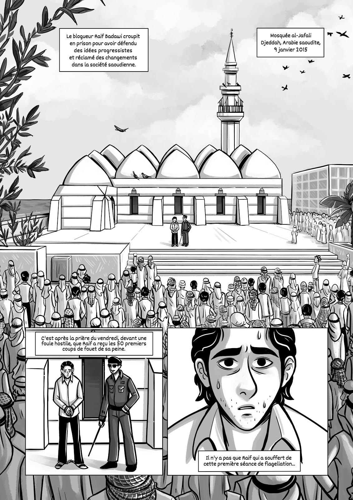 Raif Badawi - Rêver de liberté
