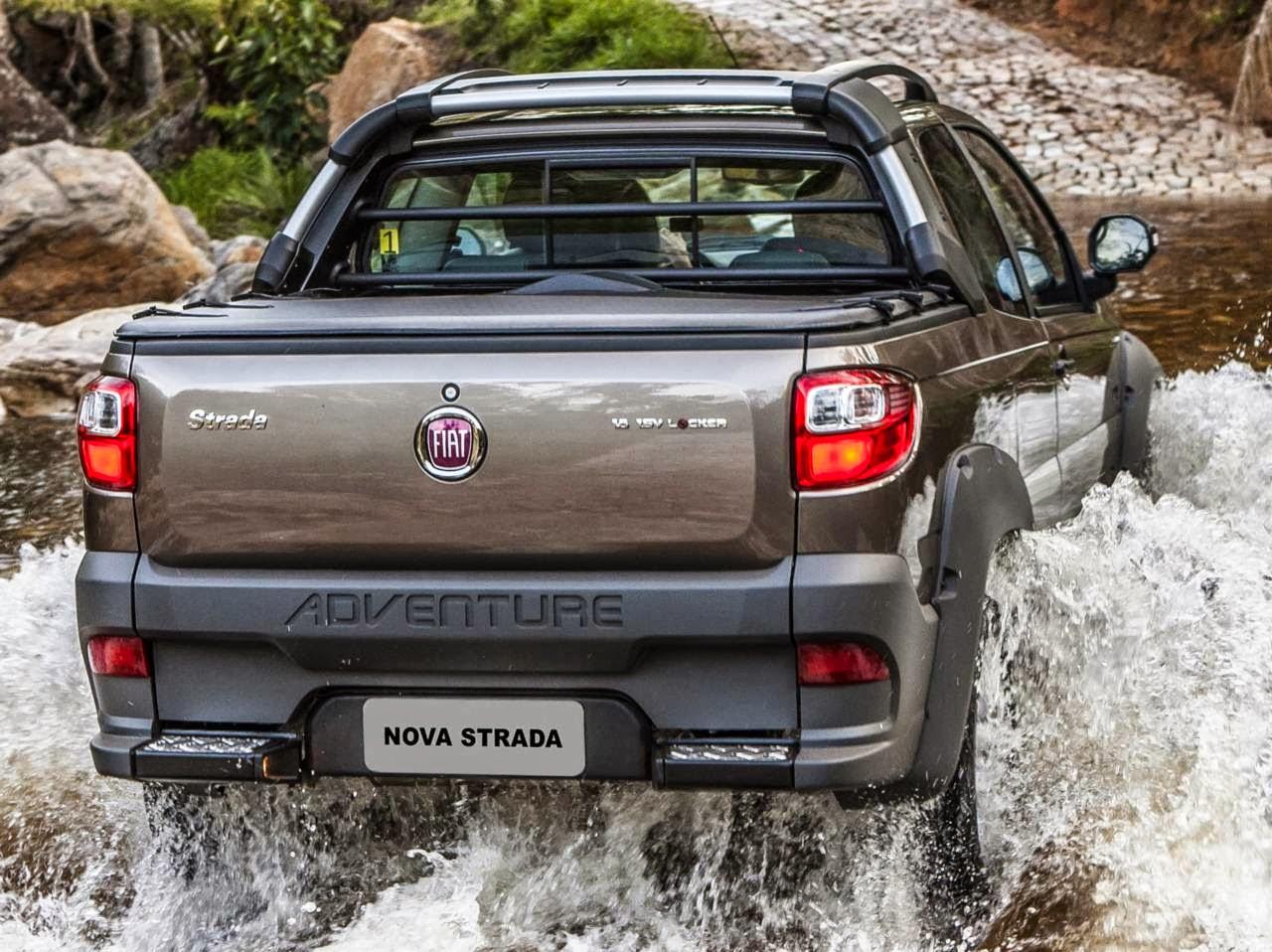 Fiat Strada 2014 três portas - comercial leve mais vendido do Brasil
