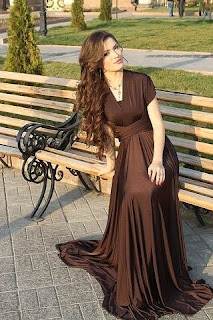 beautiful chechen girl