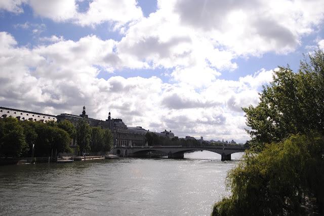 Le Seine. Paris,  France