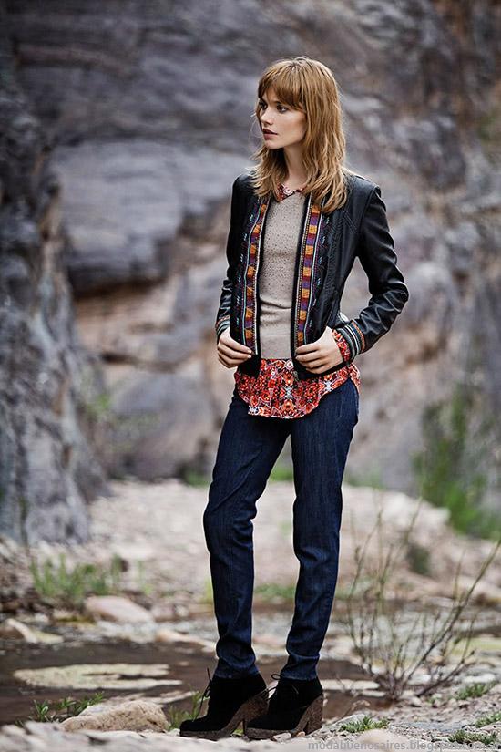 Chaquetas de moda otoño invierno 2015 India Style.
