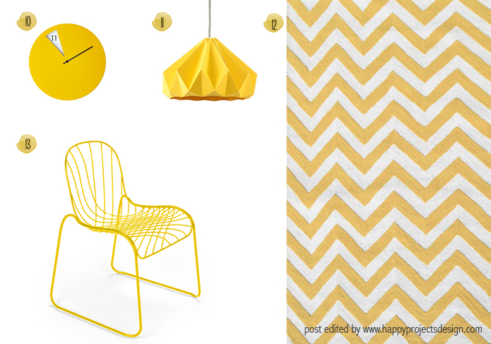 Sunny Yellow - happyprojectsdesign