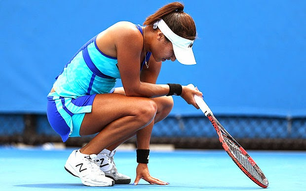 Heather Watson Australian Open 2015