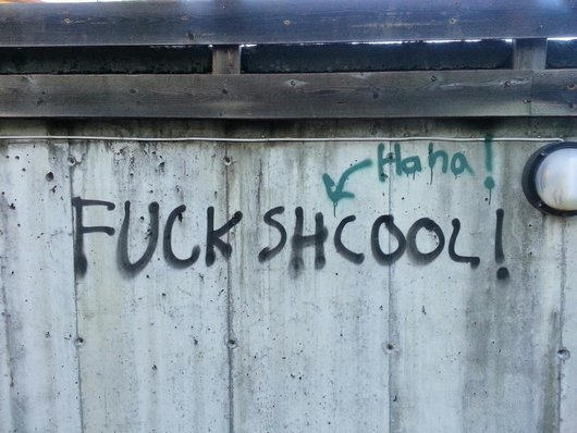 Graffiti fail
