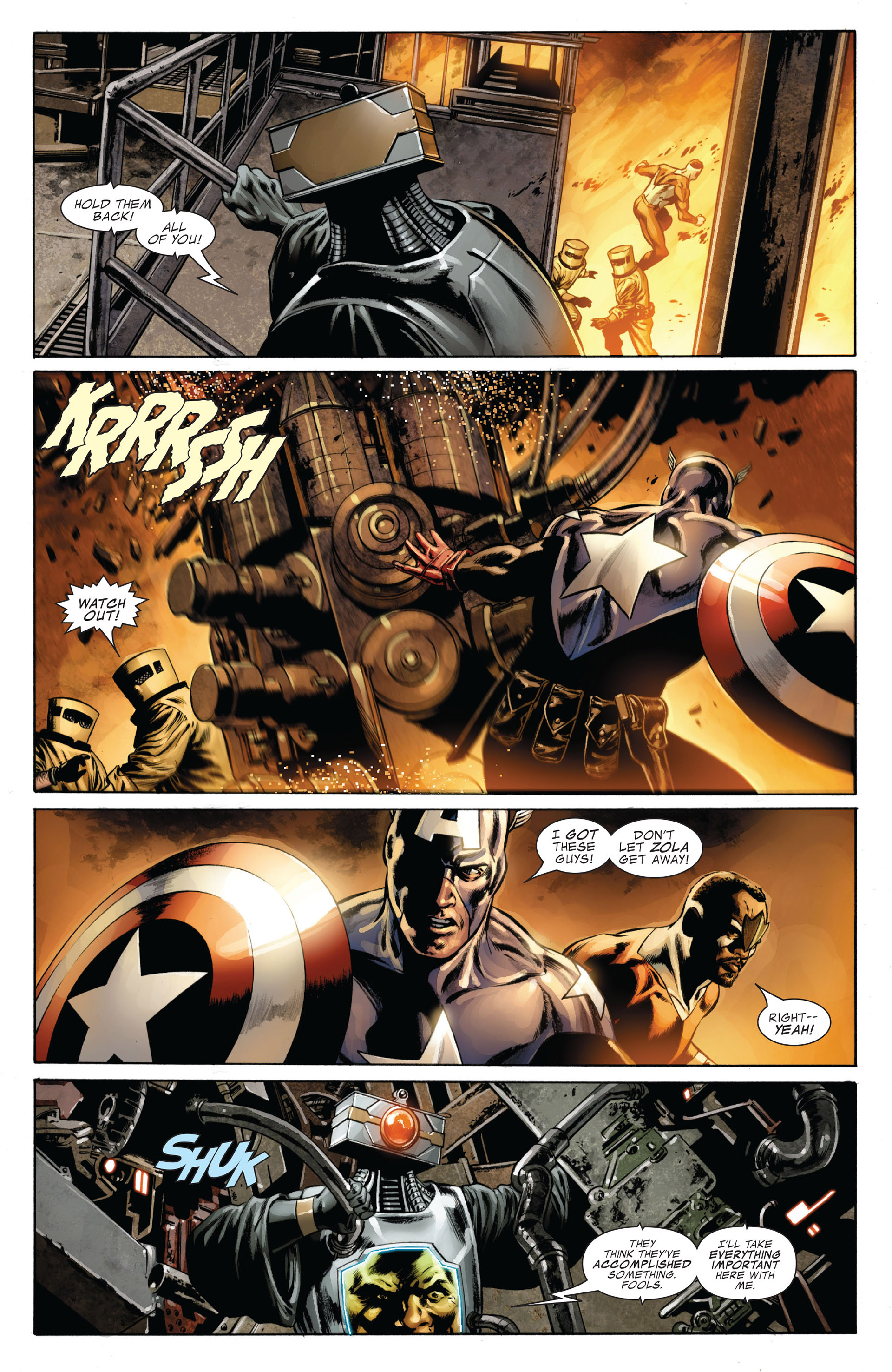 Captain America (2005) Issue #38 #38 - English 19