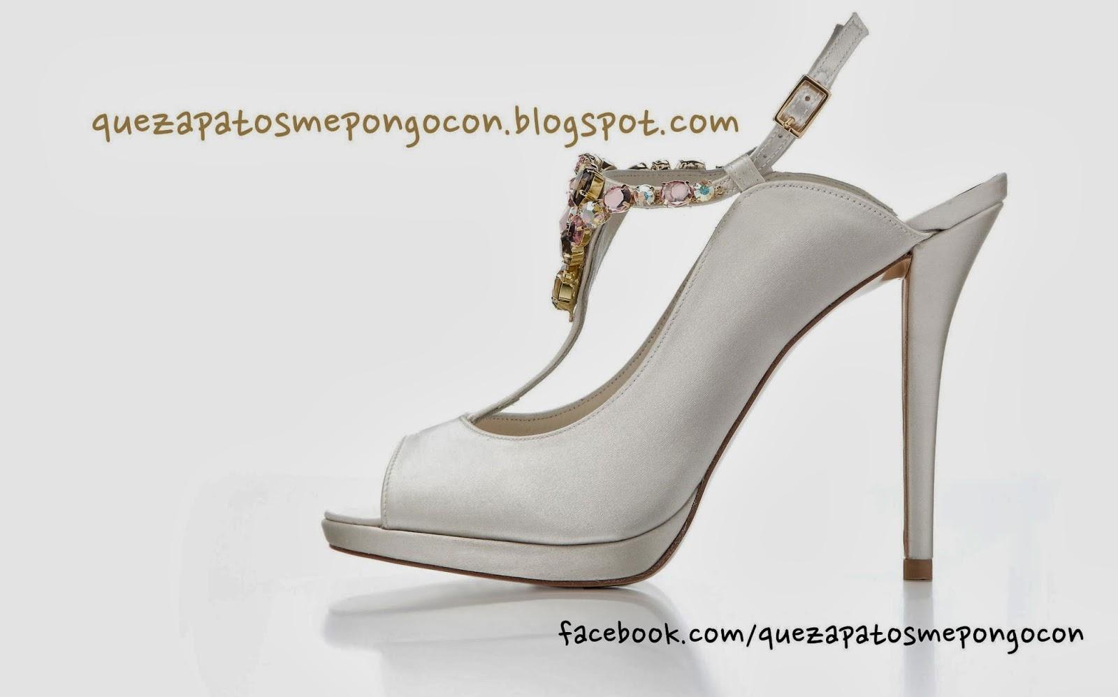 Vestidos y zapatos para bodas