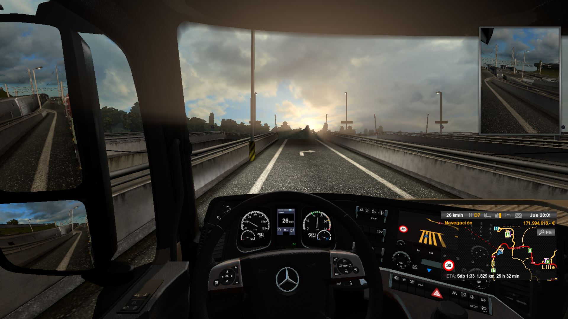 Euro Truck Simulator 2 v1.20.1s 27 DLCs+Gold Bundle+Multi35