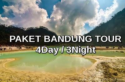 Paket Tour Bandung 4D3N