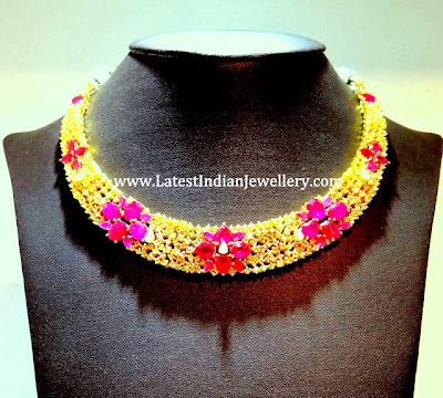 Party Wear Uncut Diamond Necklace