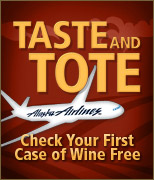 Check your first case of wine free!