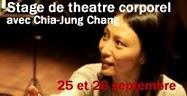 2010 Atelier de théâtre corporel avec Chia-Jung Chang
