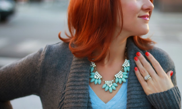 j. crew, factory, necklace