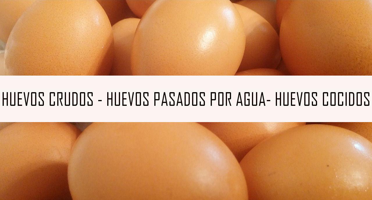 huevos cocidos huevos pasados por agua
