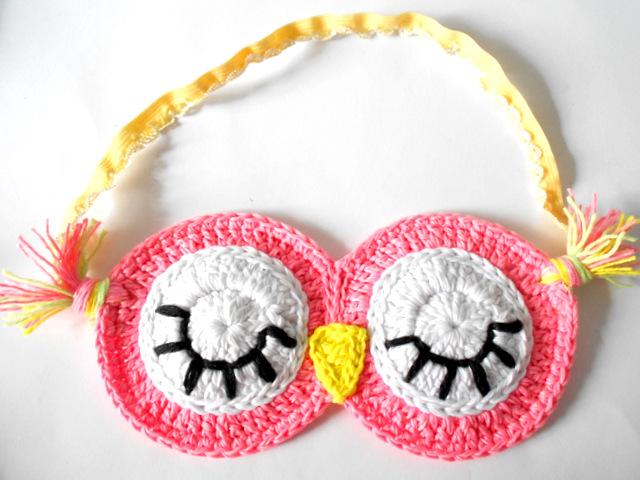 Firefly Crochet Sleepy Owl Sleeping Mask Mt N C I Ng Free