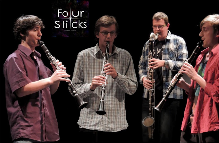 FOUR STICKS  - klarinet quartet