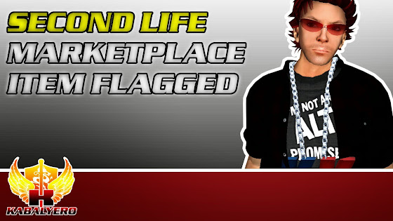 Second Life Marketplace Item Flagged - St. Patrick's Day Themed 7Seas Custom Fishing Rod