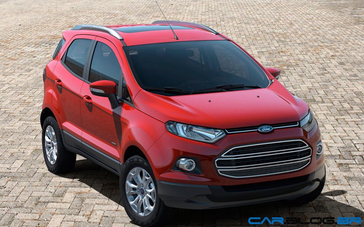 Car interior kochi - Interior Do Novo Ford Ecosport 2013 Titanium