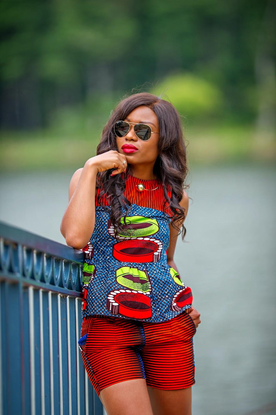 Bright Print Jadore Fashion