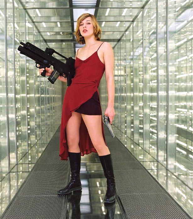 When Fashion Met Film:... Milla Jovovich Resident Evil Movie