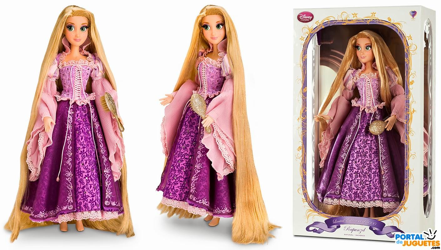 muñeca rapunzel edicion limitada caja