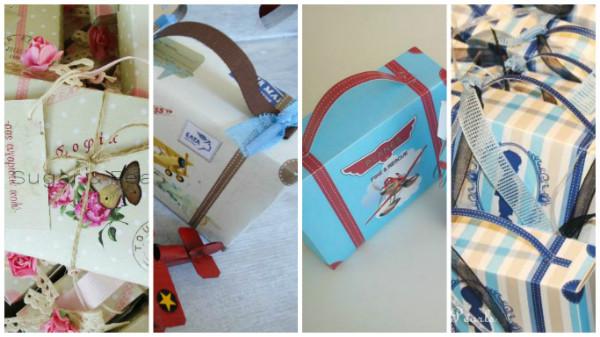 2 χρόνια lovely paper suitcase