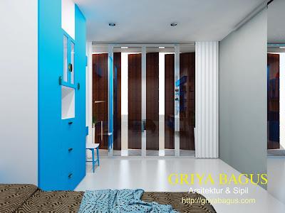 Interior Kamar Tidur Anak Lantai  2 Perumahan CitraGrand Mutiara view 3