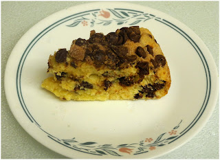 Chocolate Chip Cake from Bizzy Bakes
