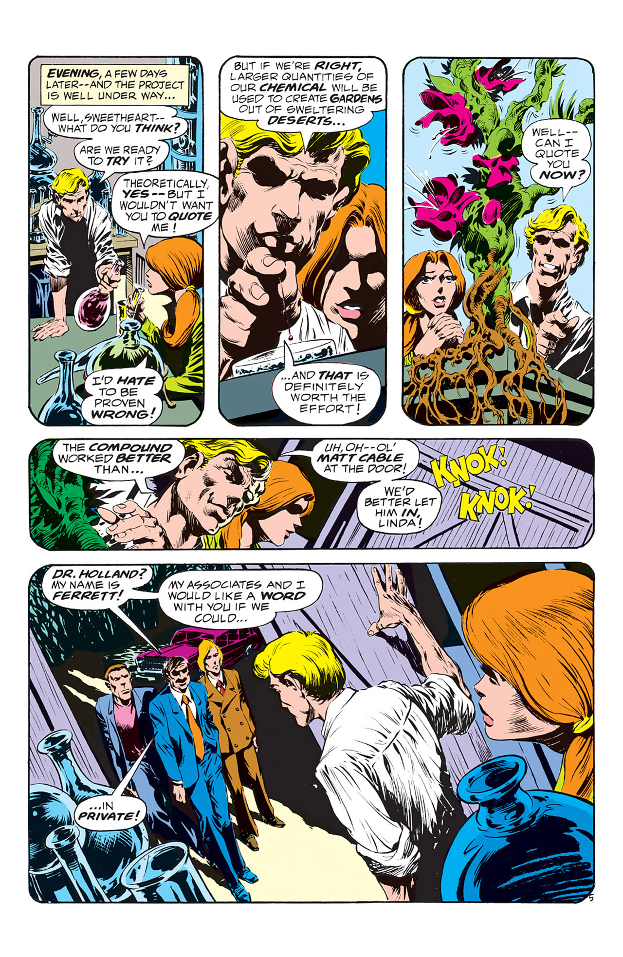 Swamp Thing (1972) Issue #1 #1 - English 6