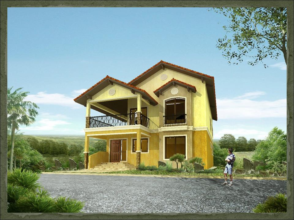 Sapphire dream home designs of lb lapuz architects for Cheap house plans designs