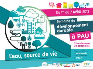 Semaine du développement durable 2013 à Pau