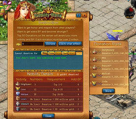 Eudemons Online Nobility Titles