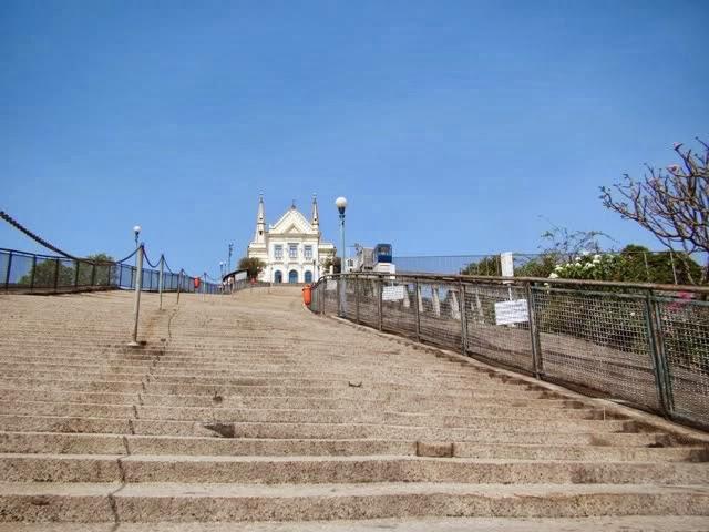 City tour Rio de Janeiro escada da Igreja da Penha