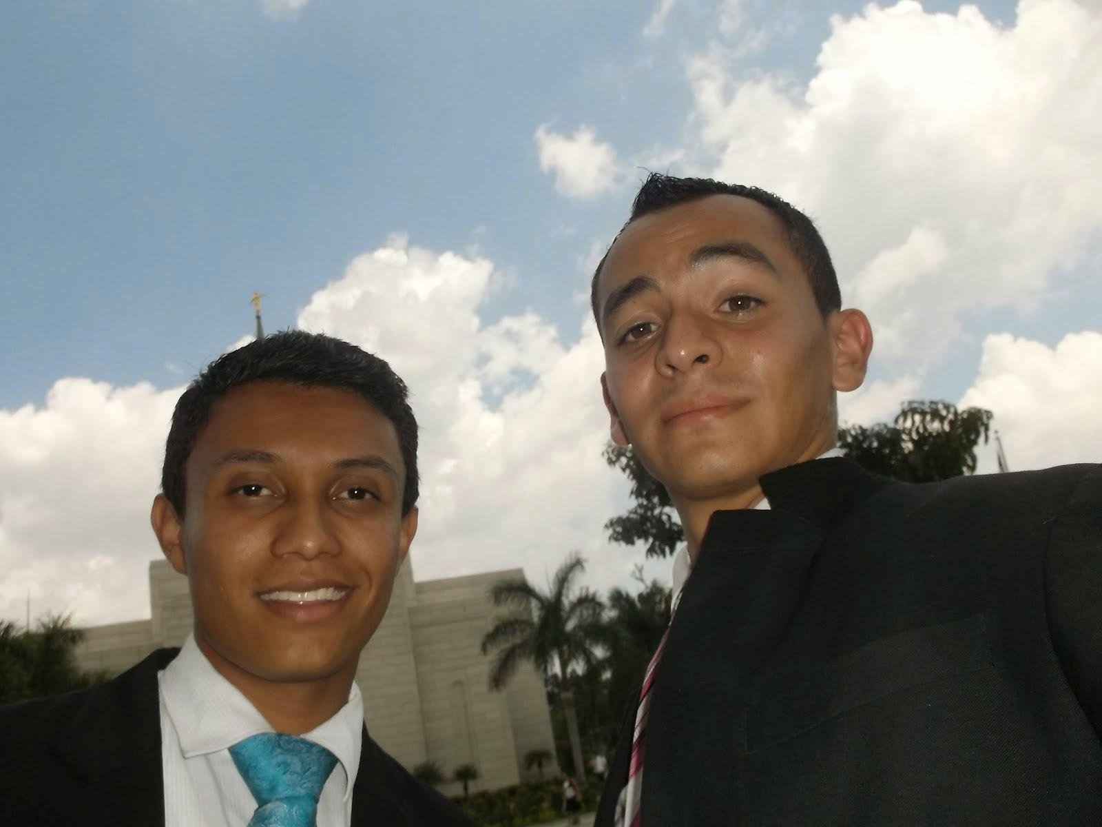 Elder Haynie and E.Villalobos