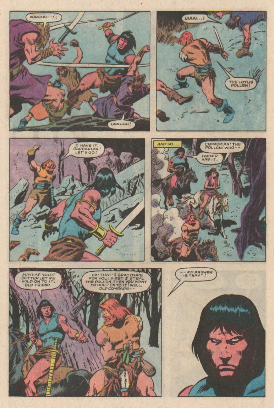 Conan the Barbarian (1970) Issue #167 #179 - English 12