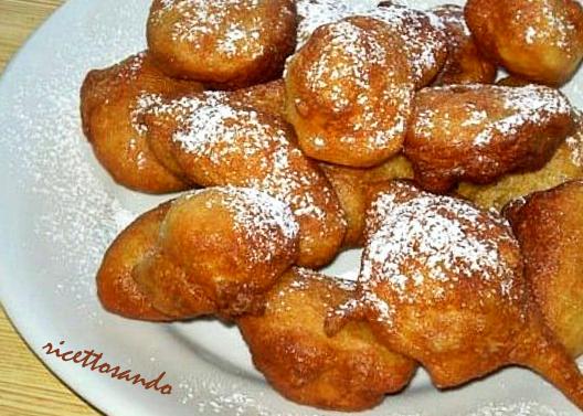 Sfinci siciliani ricetta dolce di carnevale